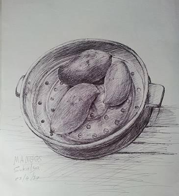 Still Life Drawings - Still life 1 by Sukalya Chearanantana