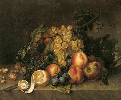 Painting - Still Life, 1808 by Francisco Lacoma y Fontanet