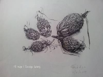 Still Life Drawings - Still life 3 by Sukalya Chearanantana
