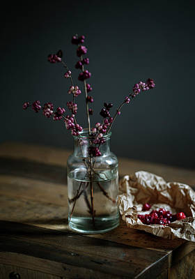 Still Life Royalty-Free and Rights-Managed Images - Still Life with Berries by Nailia Schwarz