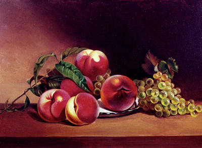 Painting - Still Life With Fruit By Mary Jane by Superstock