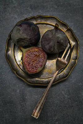 Photograph - Still Life With Rotten Figs by Jaroslaw Blaminsky