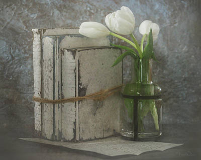 Photograph - Still Life With Tulips By Tl Wilson Photography by Teresa Wilson