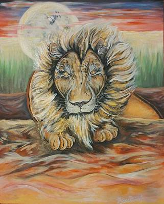 Painting - Still Strength by Lisa Bunsey