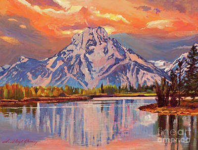 Painting - Still Water Reflections by David Lloyd Glover