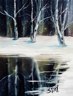 Still Winter Art Print