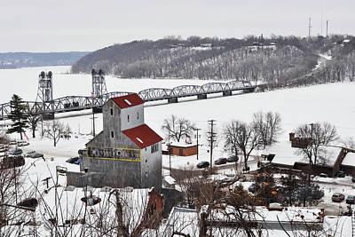 Photograph - Stillwater Minnesota Winter by Kyle Hanson