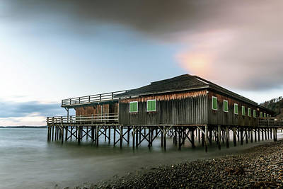 Kids Alphabet Royalty Free Images - Stilt house on the shore of Lake Constance in Bregenz Royalty-Free Image by Stefan Rotter
