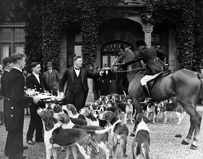 England Photograph - Stirrup Cup by J. Gaiger