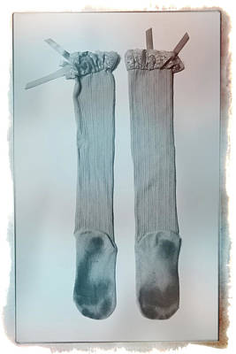 Photograph - Stockings #6525 by Andrey Godyaykin