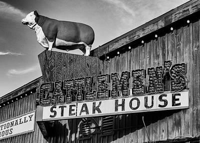 Claude Monet - Stockyard Steaks by Stephen Stookey