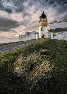 Photograph - Stoer Lighthouse by Dave Bowman