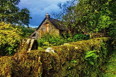 Photograph - Stone Cottage Tea Room by Debra and Dave Vanderlaan