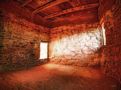 Photograph - Stone House by Leland D Howard
