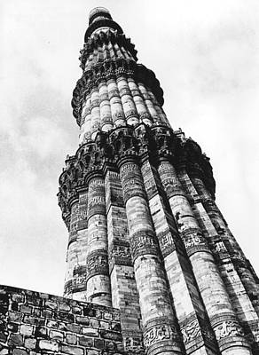 Photograph - Stone Minaret by Three Lions