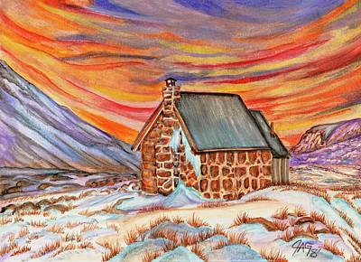 Painting - Stone Refuge by The GYPSY