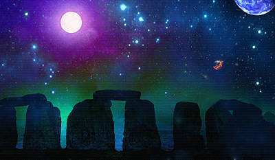Digital Art - Stonebuilders #2 by Don White Artdreamer