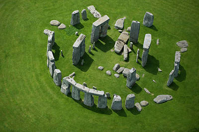 Balance Photograph - Stonehenge by Jason Hawkes