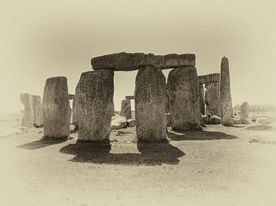 Photograph - Stonehenge Remembered by Doug Matthews