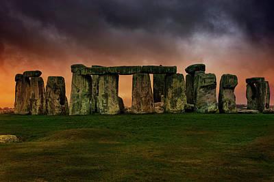 Photograph - Stonehenge by Roland Shainidze Photogaphy