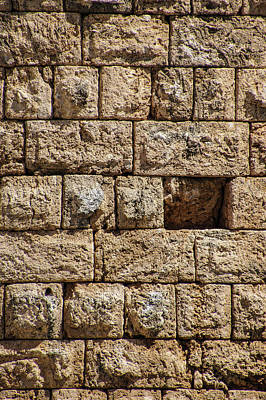 World Forgotten Rights Managed Images - Stonewall of  Hellenistic gate Royalty-Free Image by Steve Estvanik
