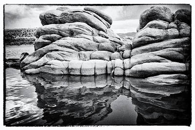 Photograph - Stoneworks by Tom Kelly