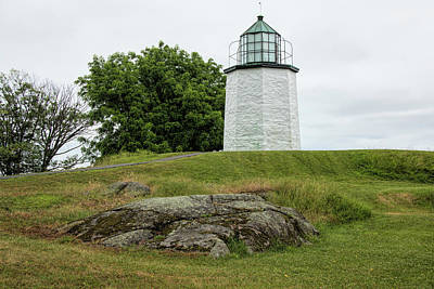 Photograph - Stony Point Light by Kristia Adams