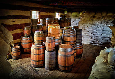 Photograph - Storehouse Goods At Fort Ligonier by Carolyn Derstine