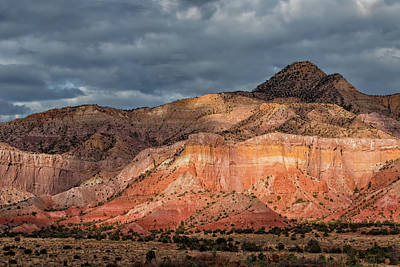 Photograph - Storm Above Ghost Ranch Mountains by Kathleen Bishop