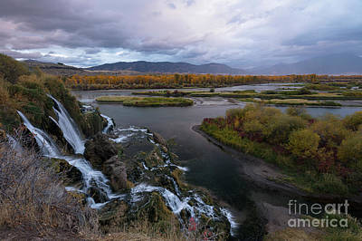 Photograph - Storm At Fall Creek by Idaho Scenic Images Linda Lantzy