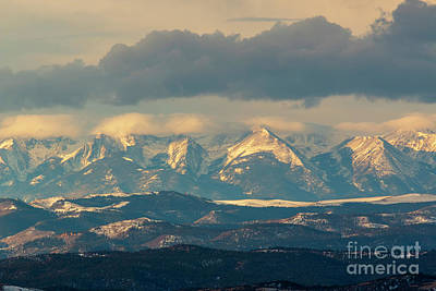 Photograph - Storm Brewing On The Sangre De Cristo by Steve Krull