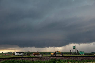 Photograph - Storm Chasing After That Afternoon's Naders 003 by NebraskaSC