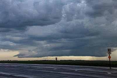Photograph - Storm Chasing After That Afternoon's Naders 010 by NebraskaSC