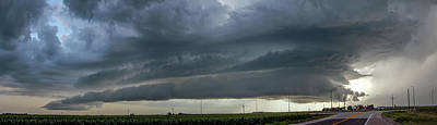 Photograph - Storm Chasing After That Afternoon's Naders 013 by NebraskaSC