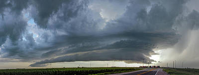 Photograph - Storm Chasing After That Afternoon's Naders 014 by NebraskaSC