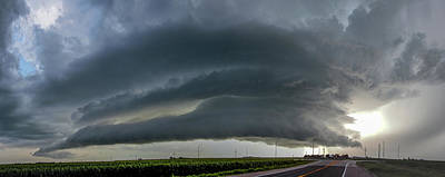 Photograph - Storm Chasing After That Afternoon's Naders 015 by NebraskaSC