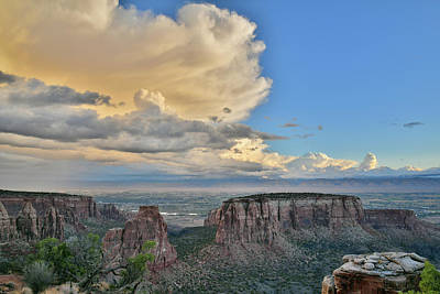 Photograph - Storm Clouds Move In Over Colorado Nm by Ray Mathis