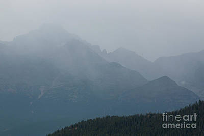 Photograph - Storm Clouds On Trail Ridge by Steve Krull