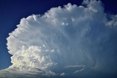Photograph - Storm Clouds Over Nebraska by Ray Mathis