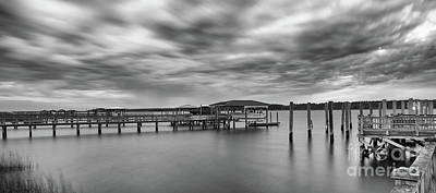 Photograph - Storm Clouds Over The Wando River - Rivertowne On The Wando by Dale Powell