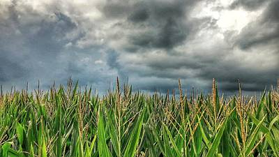 Crop Rotation Wall Art - Photograph - Storm Is A Brewin' by Jame Hayes