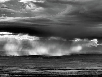 Photograph - Storm Over Bighorn Basin by Leland D Howard