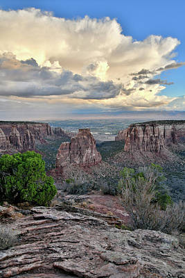 Photograph - Storm Over Independence Canyon by Ray Mathis