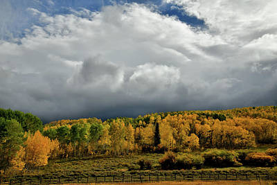 Photograph - Storm Rolls In Over Dallas Divide 21 by Ray Mathis
