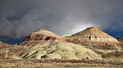 Photograph - Storm Rolls In Over Ruby Mountain by Ray Mathis