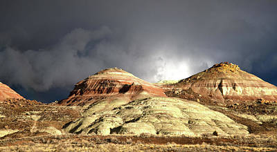 Photograph - Storm Threatens Ruby Mountain by Ray Mathis