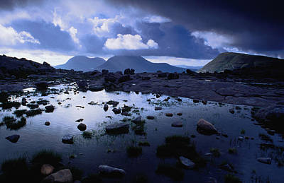 Torridon Wall Art - Photograph - Stormy Afternoon At Loch Coire Chic by Gareth Mccormack