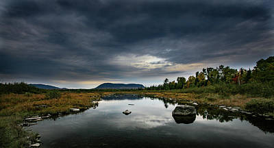 Photograph - Stormy Day In Maine by Kevin Schwalbe