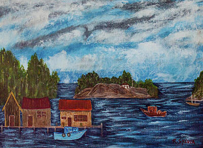 Painting - Stormy Day by Randy Sylvia