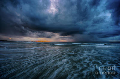 Photograph - Stormy Morning by David Smith